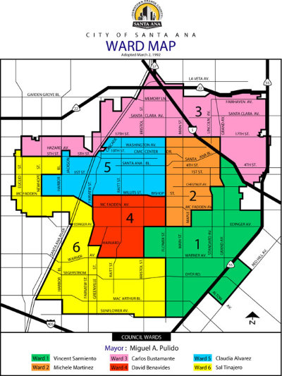 Santa-Ana-Council-Ward-Map
